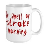 Two-stroke in the Morning Large Mug