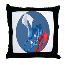 Gomberg Ghosts Throw Pillow