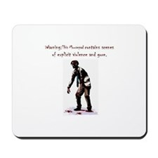 Zombie Scientist Mousepad
