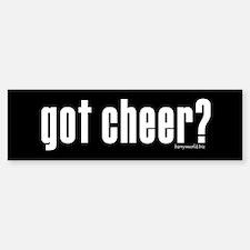 got cheer? Bumper Sticker (10 pk)