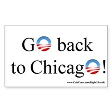Back to Chicago (sticker)