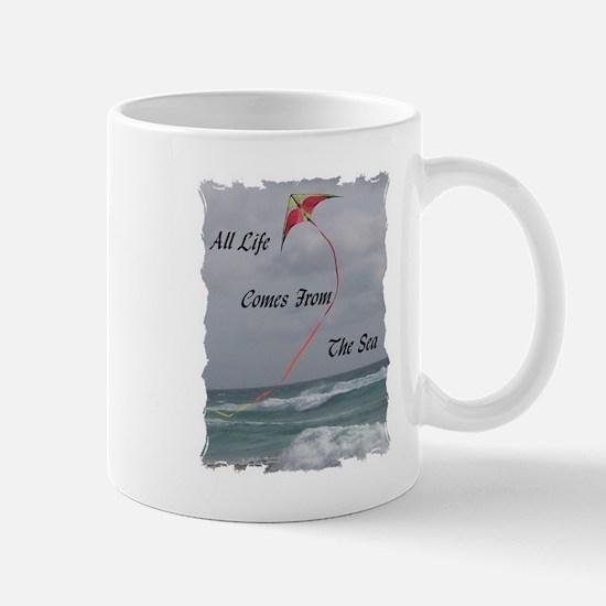 All Life Comes From The Sea Mug