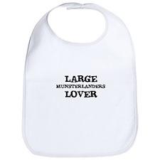 LARGE MUNSTERLANDERS LOVER Bib