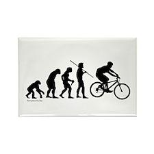 Bike Evolution Rectangle Magnet (10 pack)