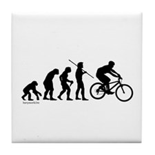 Bike Evolution Tile Coaster
