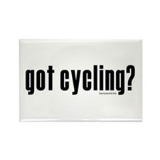 got cycling? Rectangle Magnet (100 pack)