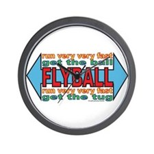 All About FLYBALL Wall Clock