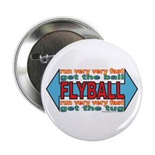 """All About FLYBALL 2.25"""" Button (10 pack)"""