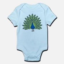 Peacock Infant Bodysuit