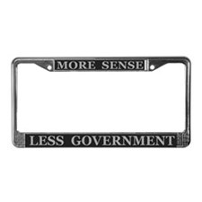 More Sense Political ~ License Plate Frame