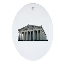 The Parthenon Oval Ornament