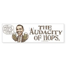 Funny Drunker Obama Bumper Bumper Bumper Sticker