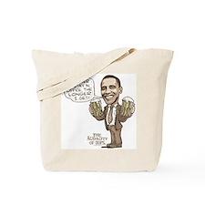 Funny Drunker Obama Tote Bag