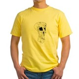 Mr chips Mens Yellow T-shirts