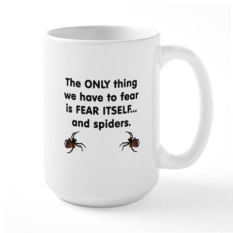 Fear Spiders Large Mug