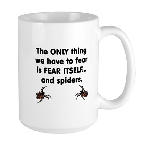 Fear Spiders Large Mug