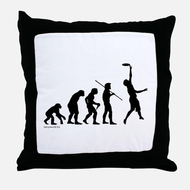 Ultimate Evolution Throw Pillow