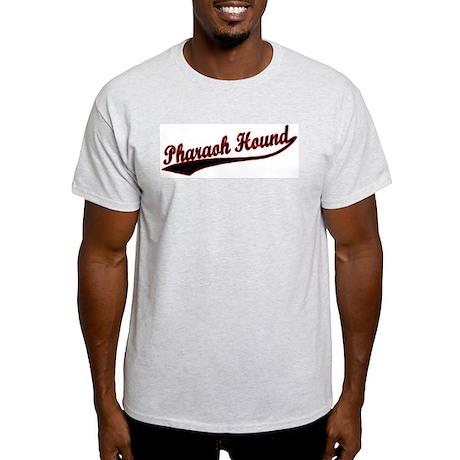 Pharaoh Hound Varsity Ash Grey T-Shirt