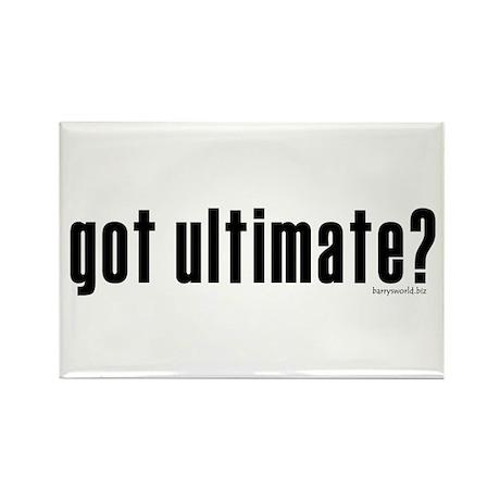 got ultimate? Rectangle Magnet (10 pack)