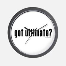 got ultimate? Wall Clock
