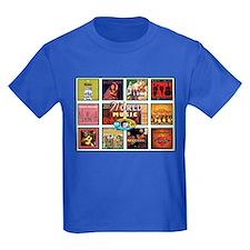 World Music Kids Dark T-Shirt