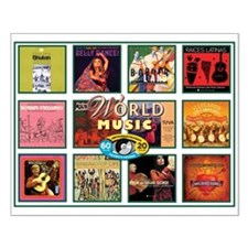 World Music Small Poster