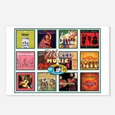 World Music Postcards (Package of 8)