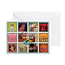 World Music Greeting Cards (Pk of 20)