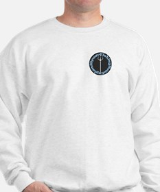 Sweatshirt w/logo front and fish reverse