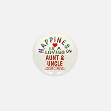 Aunt & Uncle Mini Button (10 pack)