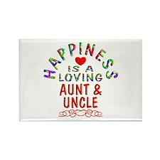 Aunt & Uncle Rectangle Magnet