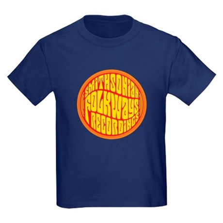 Folkways Recordings Kids Dark T-Shirt