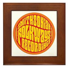 Folkways Recordings Framed Tile