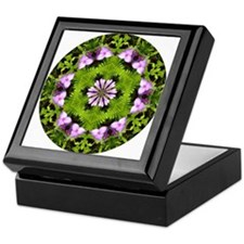Spiderwort and Ferns Keepsake Box