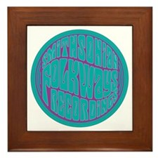 Folkways Recordings Framed Tile