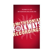 Folkways Recordings Rectangle Decal