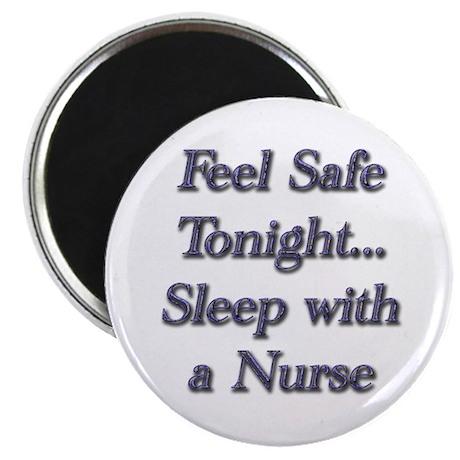 sleep with a nurse 2 Magnets