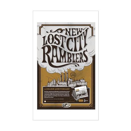 Ramblers Rectangle Sticker