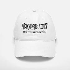 Snowmobile Addict Intervention Baseball Baseball Cap