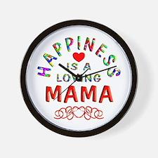 Mama Wall Clock