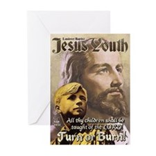 JESUS YOUTH Greeting Cards (Pk of 20)