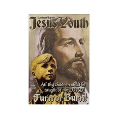JESUS YOUTH Rectangle Magnet