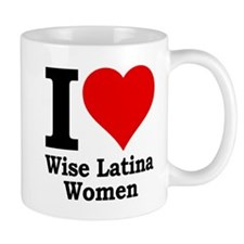 Heart Wise Latina Mug