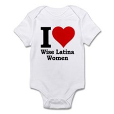 Heart Wise Latina Infant Bodysuit