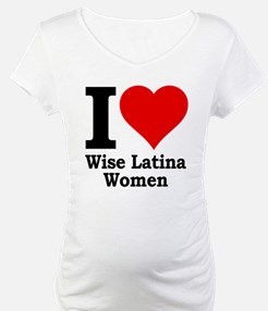 Heart Wise Latina Shirt