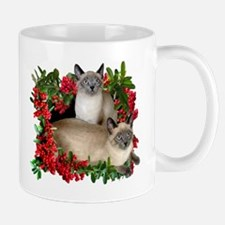 Siamese Cats in Berries Mug