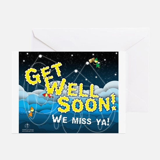 Get Well Soon 1 Greeting Cards