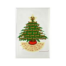 Springer Christmas tree Rectangle Magnet