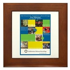 Latino Music Framed Tile