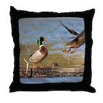 Mallard Flight Throw Pillow